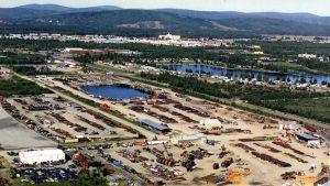 50 Acres of Steel Inventory