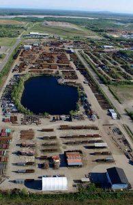 50 acres of steel inventory in Alaska