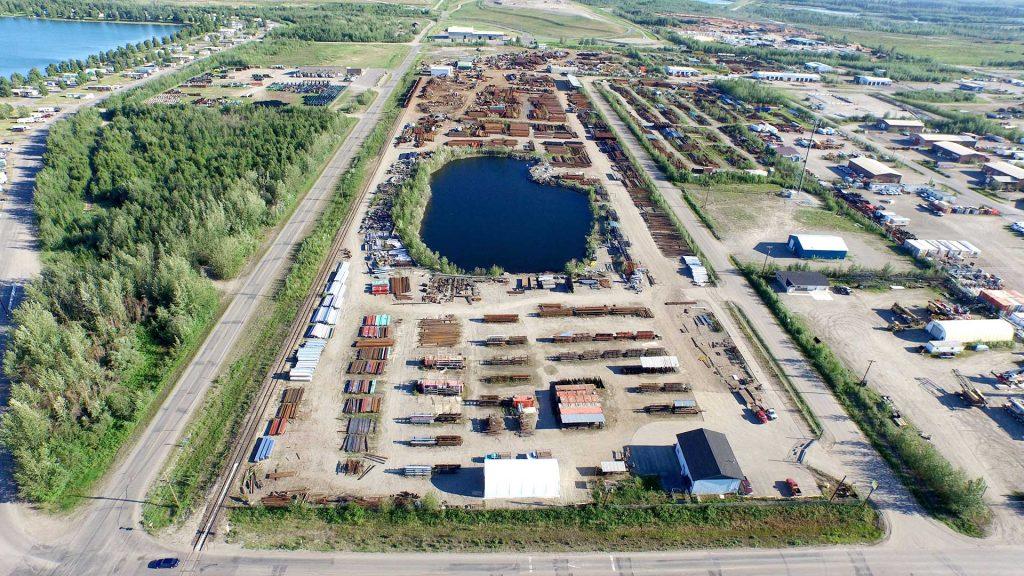 Largest Alaska Steel Yard